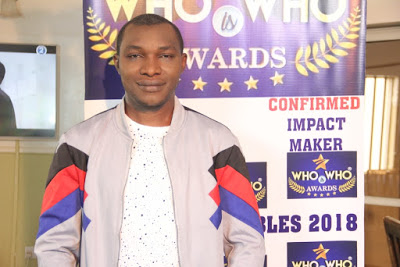 SOLOMON INUSA NYIMLO – THE FUTURE ENTERTAINMENT is a confirmed impact maker on the Plateau with an IMPACT MAKERS AWARD