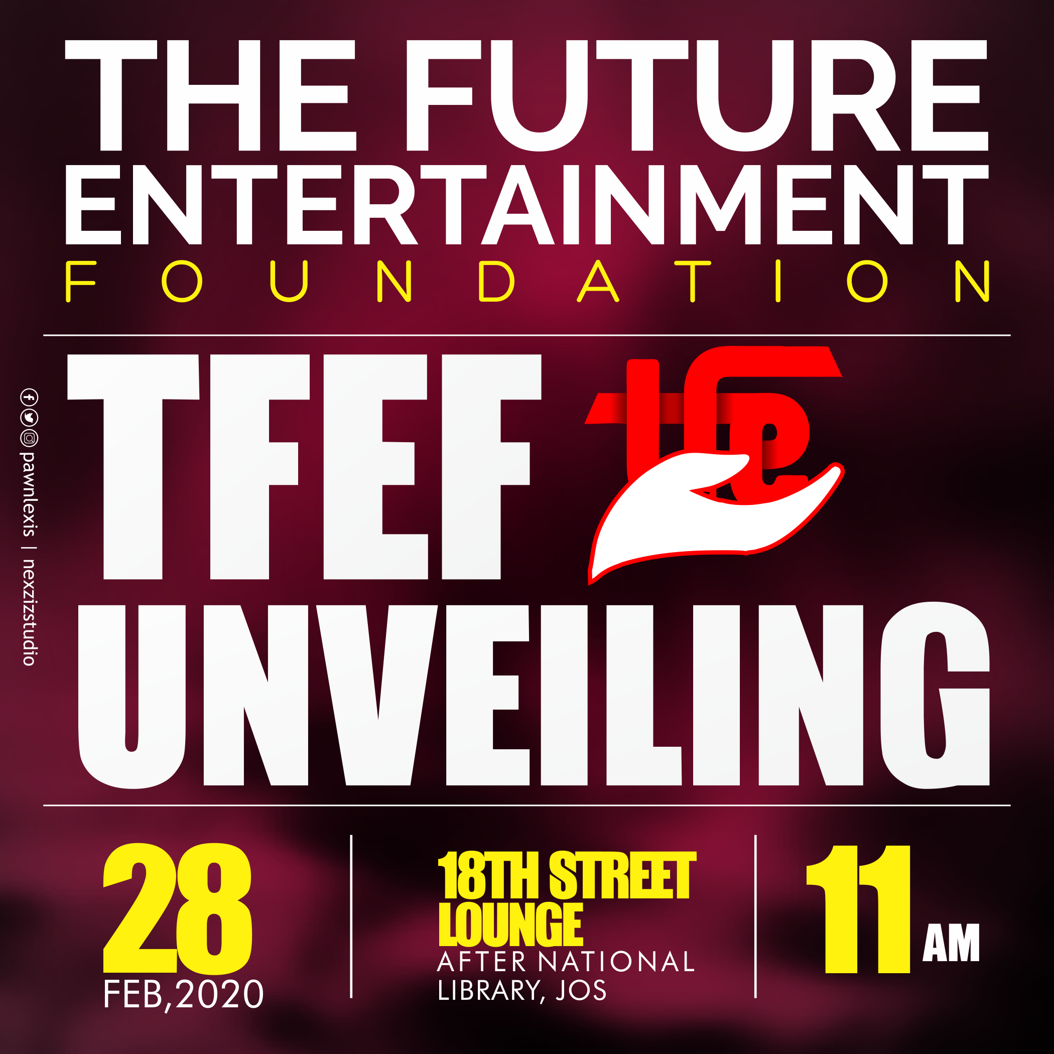 The future entertainment foundation is unveiling